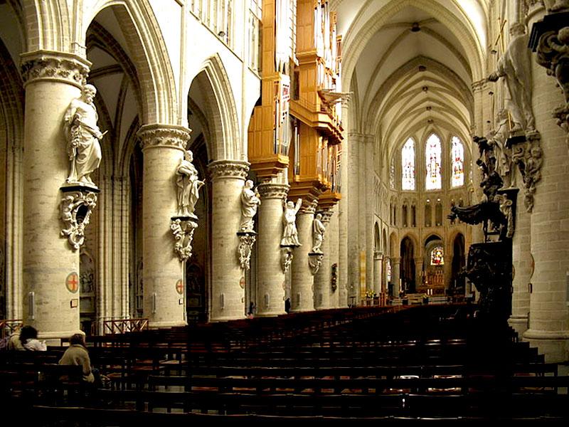 St-Goedele-interieur